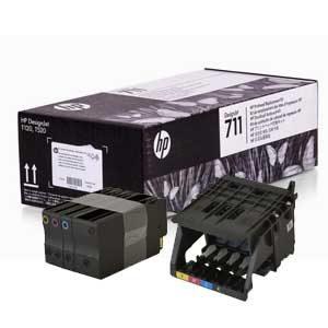 . Комплект для замены печатающей головки HP 711 Designjet