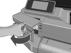Замена печатающий головки плоттера T520