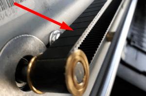 порвался ремень плоттера hp 500