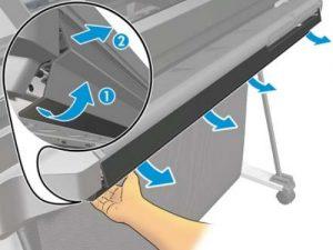 Открепите переднюю крышку с защёлок сперва